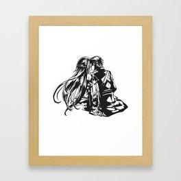 Asuna & Kirito Love Framed Art Print