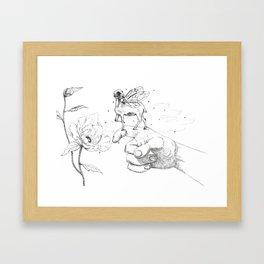 Fairy Friend Framed Art Print
