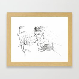 Fairy Friend Framed Art Print