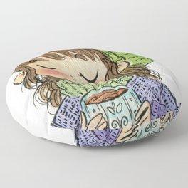 Coffee Lover Floor Pillow