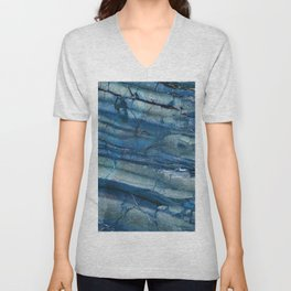 Ocean Depths Blue Marble Unisex V-Neck