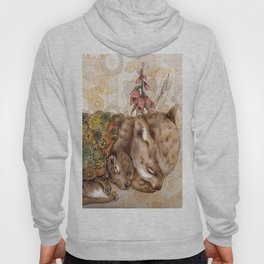 Knitted Hibernation  Hoody