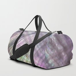 Mother of pearl in a sea shell Duffle Bag