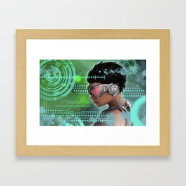 One Future Framed Art Print