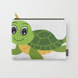 What Does The Turtle Say? Carry-All Pouch