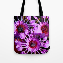 Purple Whirligig - Phoenix Tote Bag