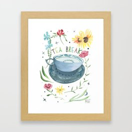 Tea For Me Framed Art Print
