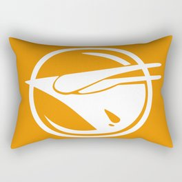 Rebel Phoenix orange Rectangular Pillow