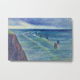 Camaret Fishing Boats on the French Coast by Maximilien Luce Metal Print