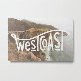 West Coast - BigSur Metal Print