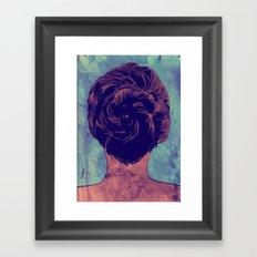 Hair nr. 9 Framed Art Print