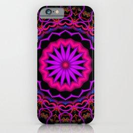symmetry on black -06- iPhone Case