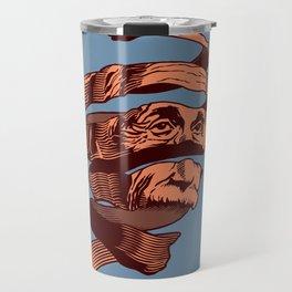 E=M.C. Escher Travel Mug