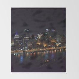 Pittsburgh Tour Series - City Throw Blanket
