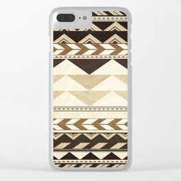 Aztec Pattern No. 29 Clear iPhone Case