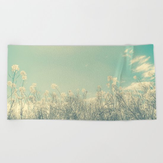 Cotton Candy Beach Towel