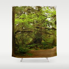 The Opulence Of The Rainforest Shower Curtain