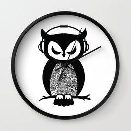Nocturnal Beats Wall Clock