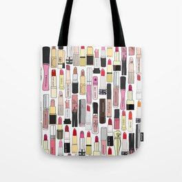 Lipstick Forever Tote Bag