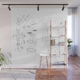 La Pavoni Professional Patent Drawing Wall Mural