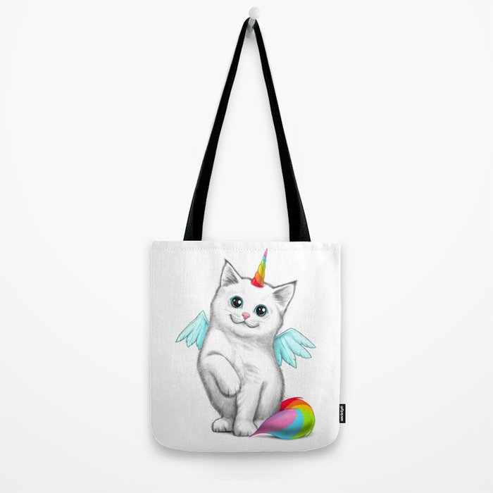 Cat unicorn Tote Bag
