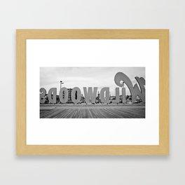 Wildwood Backwards Framed Art Print