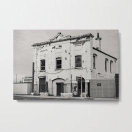 Abandoned Building Metal Print