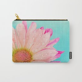 Retro pastel summer daisy Carry-All Pouch