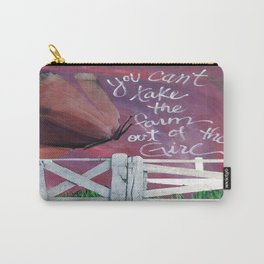 Farm Girl by Seattle Artist Mary Klump Carry-All Pouch