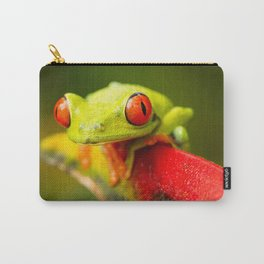 Red eye Frog Carry-All Pouch