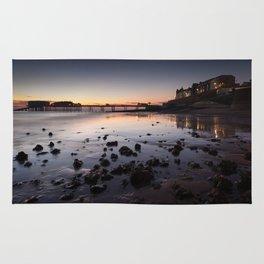 Cromer Beach at Dawn Rug