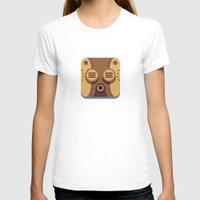 steam punk T-shirts featuring Steam Punk Mask by Nick Kumbari