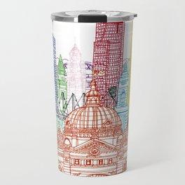 Melbourne Towers Travel Mug