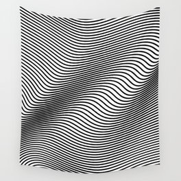 Bold Minimal Lines Wall Tapestry