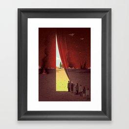 Hope Beyond the War Framed Art Print