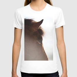 horse portrait T-shirt