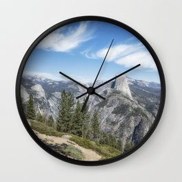 Half Dome from Washburn Point Wall Clock