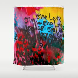 Color Me In Love Shower Curtain