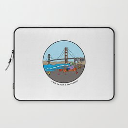 I left my scarf in San Francisco Laptop Sleeve