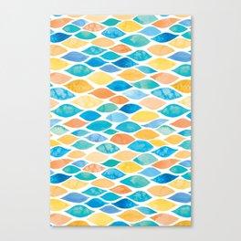 Watercolour Ocean | Desert Palette Canvas Print