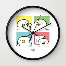 OPI Selfie Poses Wall Clock