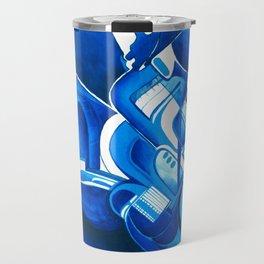 #22 – dipinto di blu… Travel Mug