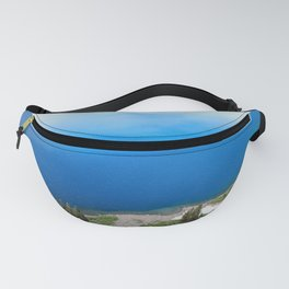 Crater Lake Cloud Reflection Fanny Pack