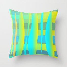 Sunny Days vector art Throw Pillow