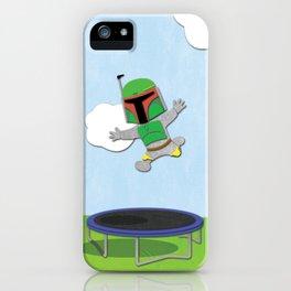 SW Kids - Boba Fett Jump iPhone Case