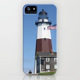 Montauk Lighthouse iPhone Case