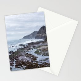 Low Tide Along the Oregon Coast Stationery Cards