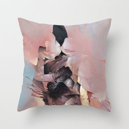 Silence Breaker Throw Pillow