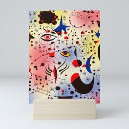 Joan Mirò Pattern #1 Mini Art Print