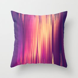 Dissolved Reality Throw Pillow